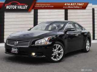 Used 2012 Nissan Maxima 3.5 SV Loaded! No Accident! for sale in Scarborough, ON