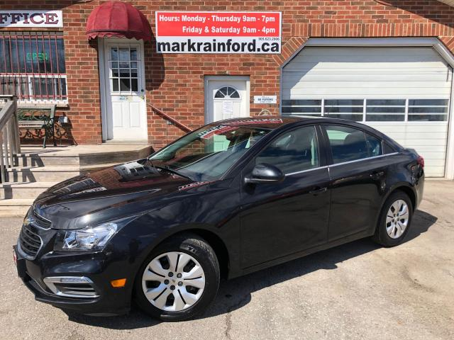 2015 Chevrolet Cruze 1LT Auto Bluetooth Back Up Cam Remote Start