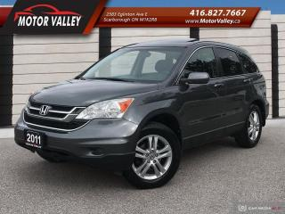 Used 2011 Honda CR-V 4WD EX-L 1-OWNER NO ACCIDENT - LEATHER / ROOF! for sale in Scarborough, ON