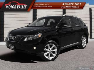Used 2010 Lexus RX 350 AWD Ultra Premium Navigation NO ACCIDENT! for sale in Scarborough, ON