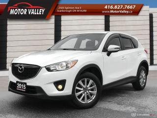 Used 2015 Mazda CX-5 GS-SKY SUNROOF - B.UP CAM MINT! for sale in Scarborough, ON