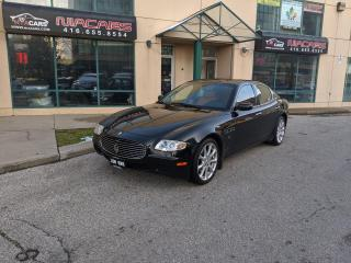 Used 2008 Maserati Quattroporte **1 OWNER**LOW KM** for sale in North York, ON