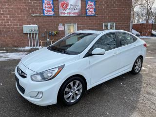 Used 2012 Hyundai Accent GLS/1.6L/SUNROOF/SAFETY INCLUDED for sale in Cambridge, ON