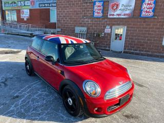Used 2011 MINI Cooper Hardtop/1.6L/AUTOMATIC/SAFETY INCLUDED for sale in Cambridge, ON