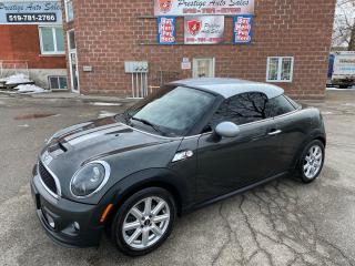 Used 2012 MINI Cooper Coupe S/1.6 TURBO/NO ACCIDENT/SAFETY INCLUDED for sale in Cambridge, ON
