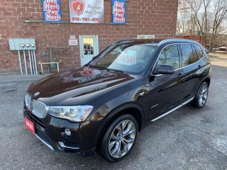 Used 2015 BMW X3 xDrive28d/Premium Enhanced Pkg/DIESEL/4WD/ONEOWNER for sale in Cambridge, ON