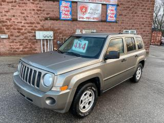 Used 2008 Jeep Patriot 4X4/2.4L/ONE OWNER/NO ACCIDENTS/SAFETY INCLUDED for sale in Cambridge, ON