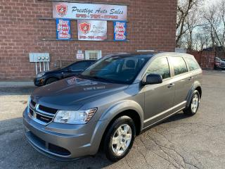 Used 2012 Dodge Journey SE Plus/2.4L/ONE OWNER/NO ACCIDENT/SAFETY INCLUDED for sale in Cambridge, ON