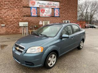 Used 2009 Chevrolet Aveo LS/1.6L//ONE OWNER/NO ACCIDENTS/SAFETY INCLUDED for sale in Cambridge, ON