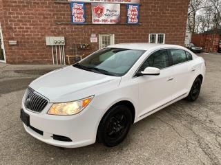 Used 2013 Buick LaCrosse 3.6L/NO ACCIDENT/SAFETY INCLUDED for sale in Cambridge, ON