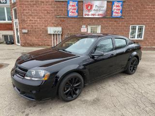 Used 2013 Dodge Avenger 2.4L/AUTOMATIC 6 SPEED/NO ACCIDENTS/SAFETY INCL for sale in Cambridge, ON