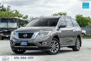Used 2013 Nissan Pathfinder SV|Leather|Backup Cam|Htd Seats|Keyless Entry for sale in Bolton, ON