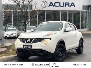 Used 2014 Nissan Juke SV FWD CVT for sale in Markham, ON