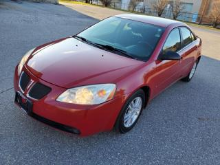 Used 2006 Pontiac G6 4dr Sdn V6 for sale in Mississauga, ON