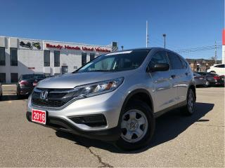 Used 2016 Honda CR-V LX - Rear Camera - Heated Seats - Bluetooth for sale in Mississauga, ON