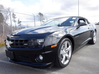 Used 2012 Chevrolet Camaro Convertible 2SS for sale in Burnaby, BC