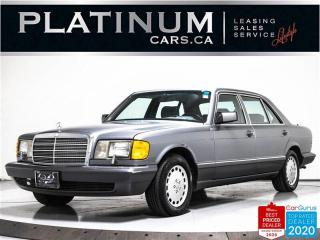 Used 1989 Mercedes-Benz S-Class 420-Class 420 SEL, PRISTINE, ORIGINAL, CLASSIC for sale in Toronto, ON