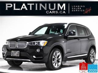 Used 2015 BMW X3 xDrive28i, NAV, PANO, HEATED, CAM, CLEAN CARFAX for sale in Toronto, ON