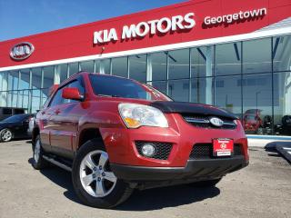 Used 2010 Kia Sportage LX CONVENIENCE | ACCDNT-FREE | ROOF | NAVI | for sale in Georgetown, ON