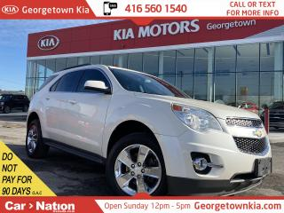 Used 2013 Chevrolet Equinox LT w1LT |CLEAN CARFAX |BU CAM| BLU TOOTH|HTD SEATS for sale in Georgetown, ON