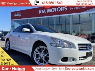 Used 2013 Nissan Maxima LEATHER| ROOF| NAVI| BACK UP CAM| FULLY SERVICED for sale in Georgetown, ON