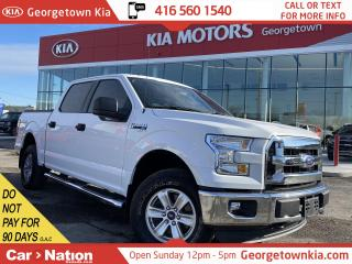 Used 2015 Ford F-150 XLT | 4X4 | TONNEAU COVER|DLR SERVICED|NO ACCIDENT for sale in Georgetown, ON