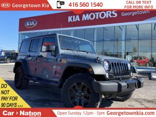 Used 2015 Jeep Wrangler Unlimited WILLYS | 4X4 | AUTO| B/TOOTH | PWR GRP|NO ACCIDENT for sale in Georgetown, ON