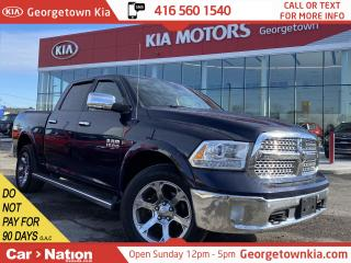 Used 2016 RAM 1500 Laramie   4x4   DLR SERVICED   LEATHER  NAVI  ROOF for sale in Georgetown, ON