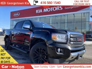 Used 2017 GMC Canyon SLT | DIESEL |4X4 | LEATHER| NO ACCIDENT | 1 OWNER for sale in Georgetown, ON