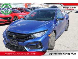 Used 2020 Honda Civic Sport Touring | Navigation, Leather for sale in Whitby, ON
