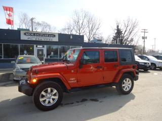 Used 2009 Jeep Wrangler Unlimited Sahara for sale in Winnipeg, MB