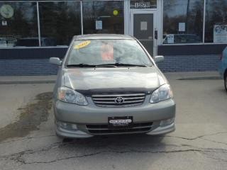 Used 2003 Toyota Corolla Sport for sale in Winnipeg, MB