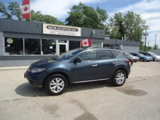 Used 2012 Nissan Murano SV for sale in Winnipeg, MB