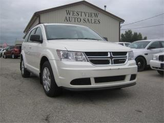 Used 2016 Dodge Journey Canada Value Pkg for sale in Headingley, MB