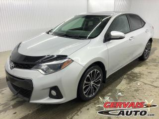 Used 2016 Toyota Corolla S MAGS CUIR TOIT CAMÉRA DE RECUL SIÈGES CHAUFFANTS for sale in Shawinigan, QC