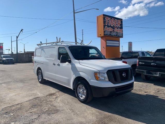 2012 Nissan NV 1500 S CARGO VAN**ONLY 96KMS**ROOF RACK**SHELVING**CERT