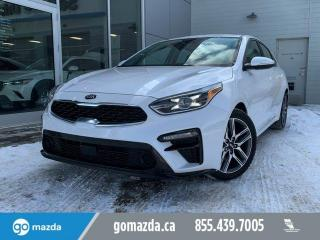 Used 2019 Kia Forte LIMITED - LEATHER, SUNROOF, SAFTEY PKG, BACK UP CAM for sale in Edmonton, AB