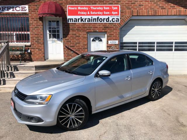 2014 Volkswagen Jetta Highline 1.8 Turbo Leather Sunroof Bluetooth