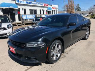 Used 2015 Dodge Charger SXT-AWD-Accident Free-We Finance for sale in Stoney Creek, ON