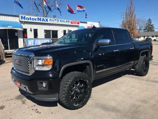 Used 2015 GMC Sierra 1500 Denali-4x4-Accident Free-We Finance for sale in Stoney Creek, ON