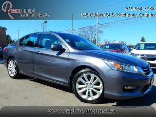 Used 2014 Honda Accord V6 Touring.Navi.Reverse/Blind Spot Cam.FullOptions for sale in Kitchener, ON