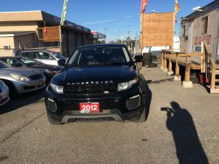 Used 2012 Land Rover Range Rover Evoque Pure Premium for sale in Etobicoke, ON