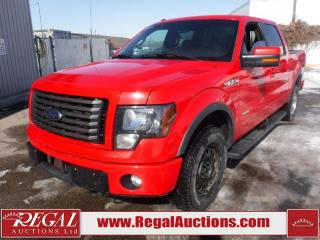 Used 2012 Ford F-150 FX4 SUPERCREW SWB 4WD 3.5L for sale in Calgary, AB