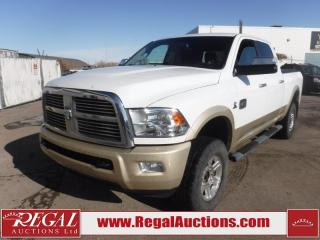 Used 2012 RAM 3500 Laramie Longhorn Crew CAB SWB 4WD 6.7L for sale in Calgary, AB