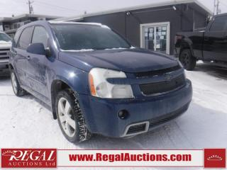Used 2008 Chevrolet EQUINOX SPORT 4D UTILITY for sale in Calgary, AB