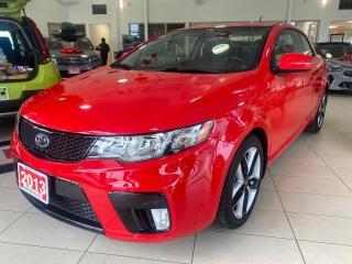 Used 2013 Kia Forte Koup 2.4 SX at for sale in Waterloo, ON