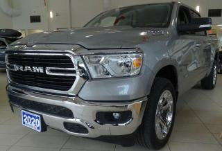 Used 2020 RAM 1500 RAM Crew Cab 4x4 (dt) Big Horn SWB for sale in Waterloo, ON