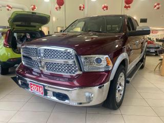 Used 2016 RAM 1500 Crew Cab 4x4 Laramie (140.5 WB - 5.7 Box) for sale in Waterloo, ON