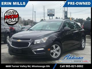 Used 2015 Chevrolet Cruze LT Turbo  SUNROOF|HEATED LEATHER|REMOTE STRT|CAM| for sale in Mississauga, ON