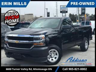 Used 2018 Chevrolet Silverado 1500 Work Truck  4X4 5.3L V8|REAR CAM|PWR GROUP|CONV PKG| for sale in Mississauga, ON